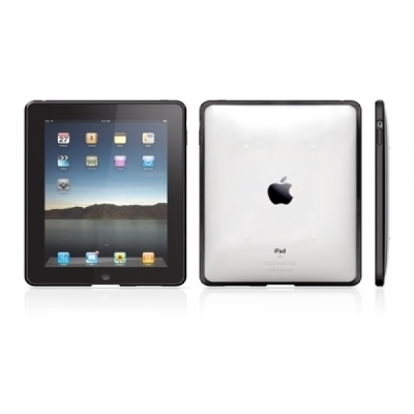 Husa Macally Clear prot ective silic grip iPad