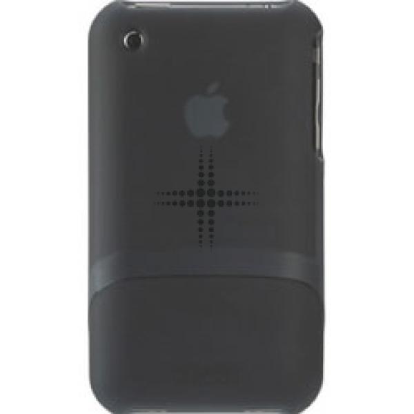 Husa Outfit pentru iPho ne 3G+3GS - Black Trans