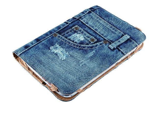 "Husa Tableta Jeans TRUST Universal  7-8"""
