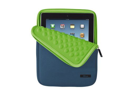 Husa Tableta TRUST Anti-shock Bubble Sleeve 10\'\' ALBASTRU