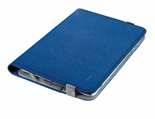 """HUSA TRUST Verso Universal Folio Stand 7-8"""" ALBASTRU"""