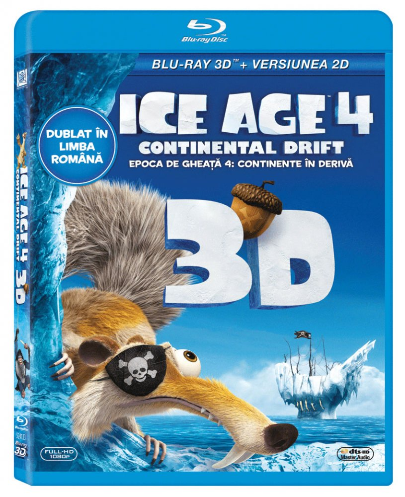 ICE AGE 4: CONTINENTAL DRIFT (3D)