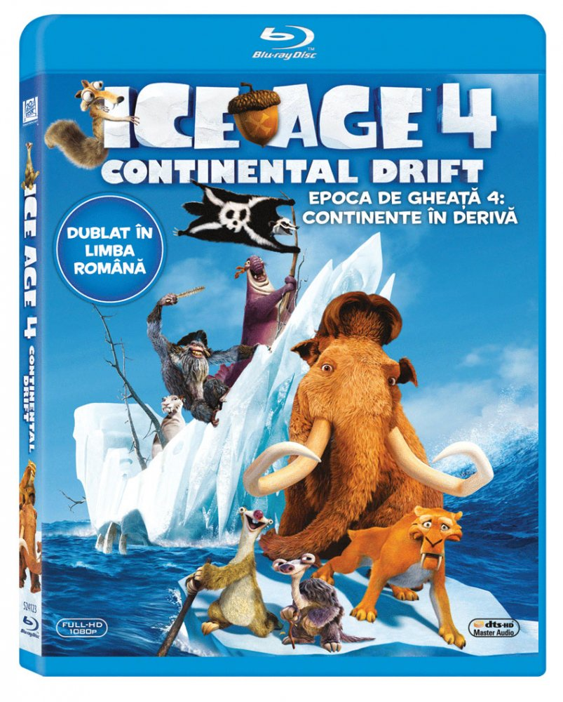 ICE AGE 4: CONTINENTAL DRIFT BR