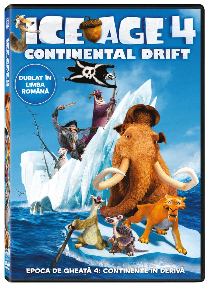 ICE AGE 4: CONTINENTAL DRIFT DVD