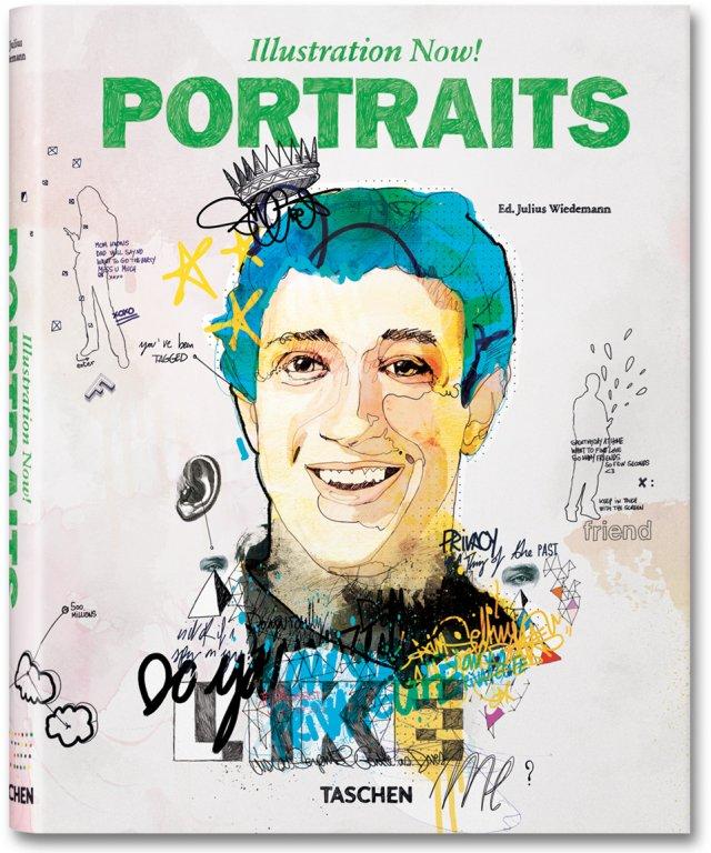 Illustration now! Portraits - Julius Wiedemann