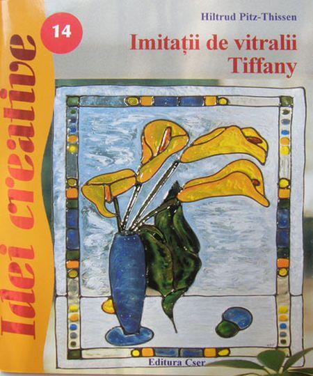 IMITATII DE VITRALII TIFFANY  IDEI CREATIVE 14 REEDITARE
