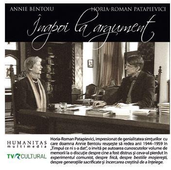 Inapoi la argument cu Annie Bentoiu - Annie Bentoiu
