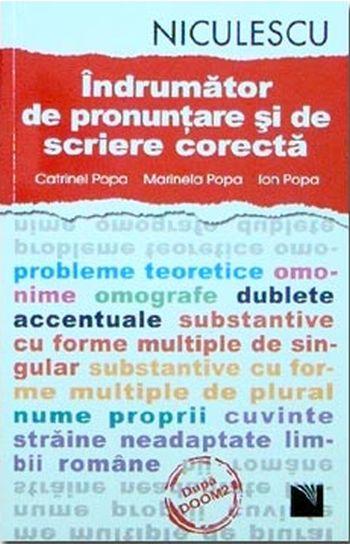 INDRUMATOR DE PRONUNTARE SI DE SCRIERE CORECTA