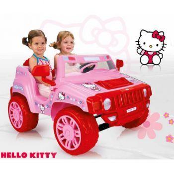 Injusa-Masinuta electrica,Dragon,Hello Kitty