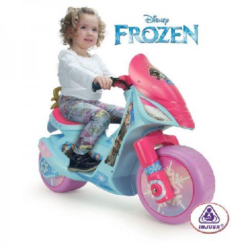 Injusa-Motocicleta electrica,Frozen