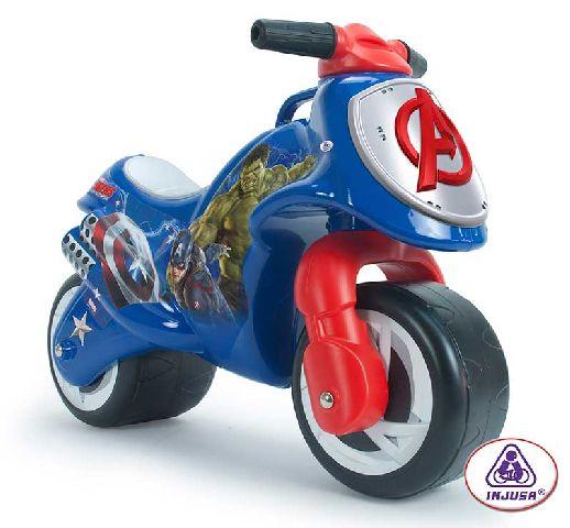 Injusa-Motocicleta fara pedale,Neox,Avengers