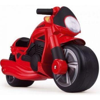 Injusa-Motocicleta fara pedale,Wheeler,rosu