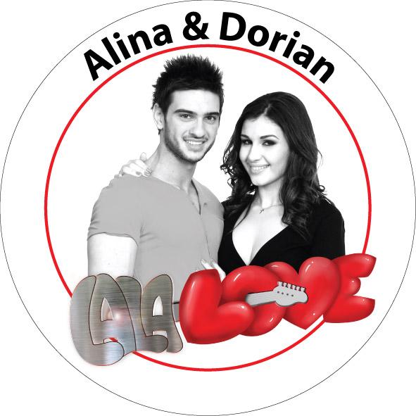 INSIGNA LALA LOVE ALINA & DORIAN - MARE
