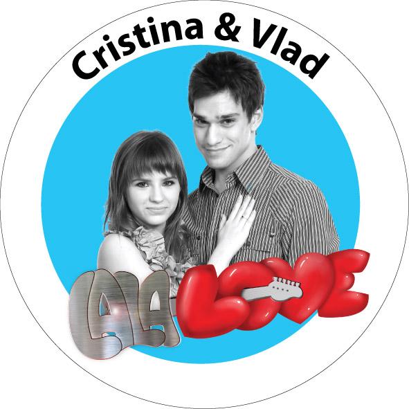 INSIGNA LALA LOVE CRISTINA & VLAD - MICA