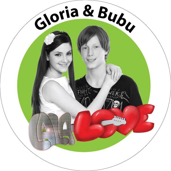 INSIGNA LALA LOVE GLORIA & BUBU - MARE