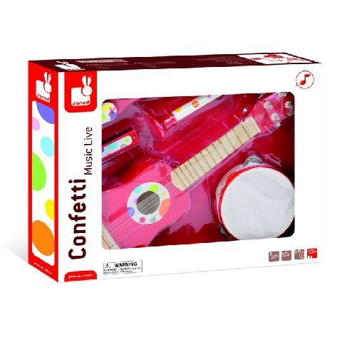 Instrumente muzicale Confetii,set,Janod