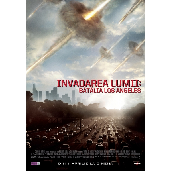 INVADAREA LUMII: BATALIA LOS ANGELES (BR) - BATTLE: LOS ANGELES (BR)