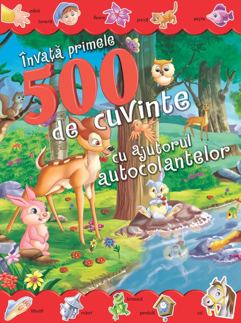 INVATA PRIMELE 500 DE CUVINTE CU AJUTORUL AUTOCOLANTELOR
