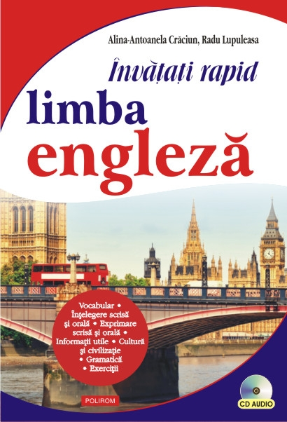 INVATATI RAPID LIMBA ENGLEZA CARTE+ CD AUDIO