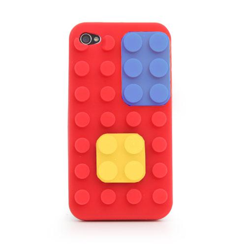 iPhone 4-Colour Block Case - R
