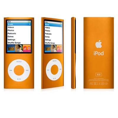 Ipod Nano 8GB Orange