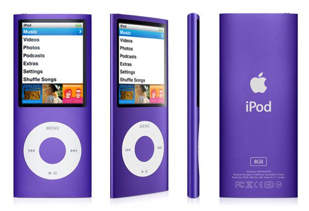 Ipod Nano 8GB Purple