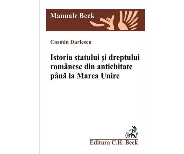 ISTORIA STATULUI SI DRE PTULUI ROMANESC DIN ANT