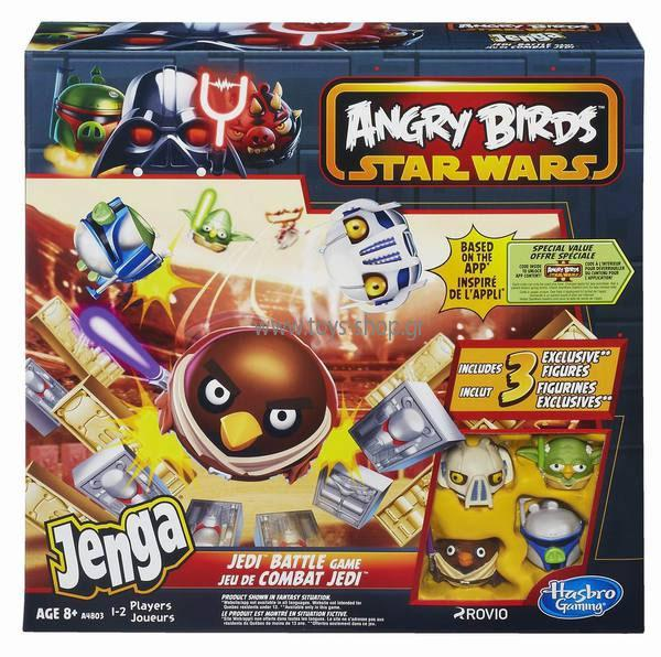 Joc Angry Birds Star Wars Jenga Jedi