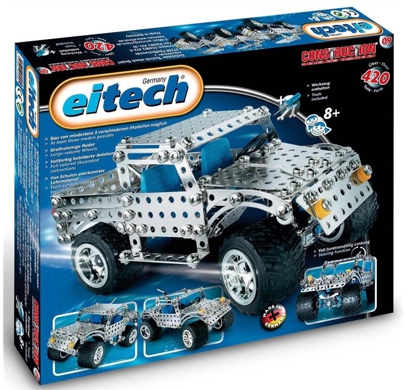 Joc constructie, Jeep, 3 modele