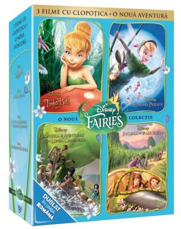 PIXIE HALLOWS GAMES + TINKER BELL 1, 2, 3