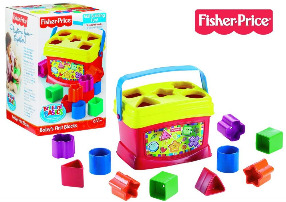 zzJucarie primele cuburi Fisher Price