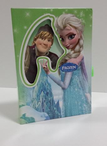 Jurnal cu lacatel,Frozen,diverse culori