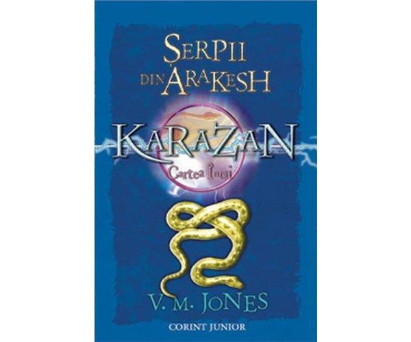 Karazan vol. i - serpii din arakesh, V.Mjones