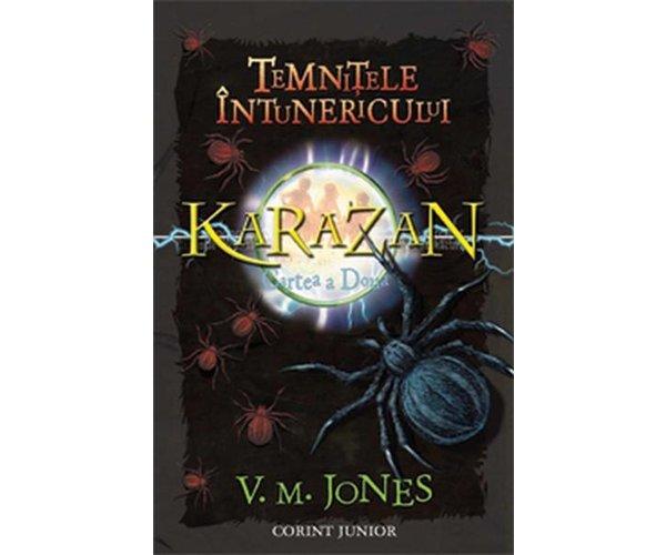 TEMNITELE INTUNERICULUI CVARTETUL KARAZAN VOLUMUL 2