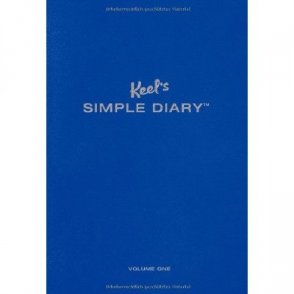 KEEL'S SIMPLE DIARY BLUE, Philipp Keel