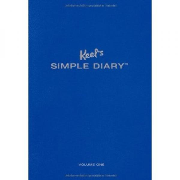 KEEL'S SIMPLE DIARY BLUE, Philipp Keel
