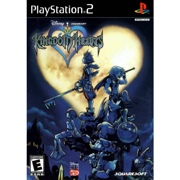 KINGDOM HEARTS 1 PS2
