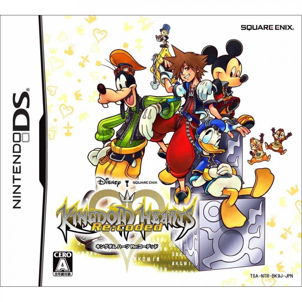 KINGDOM HEARTS RECODED DS