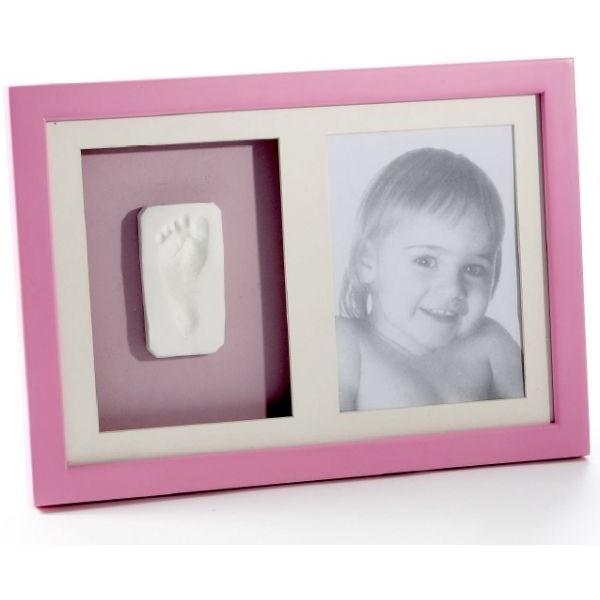 Kit amprenta cu rama fixare perete, pink