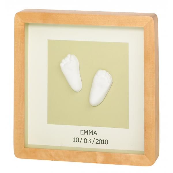 Kit mulaj 3D picioare bebe, neutral