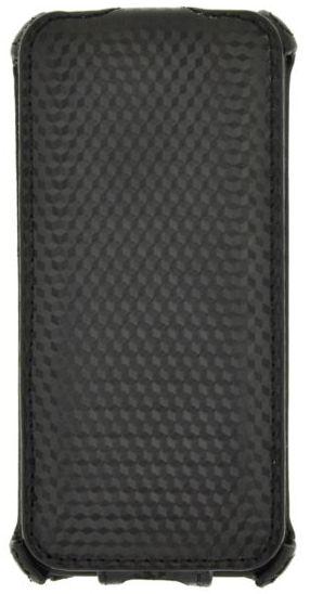 Klap Carbon Case iPhone 5 black