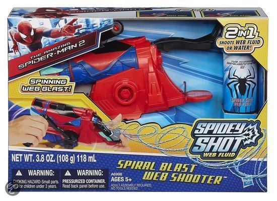 Lansator panza de paiajen spirala,Spiderman