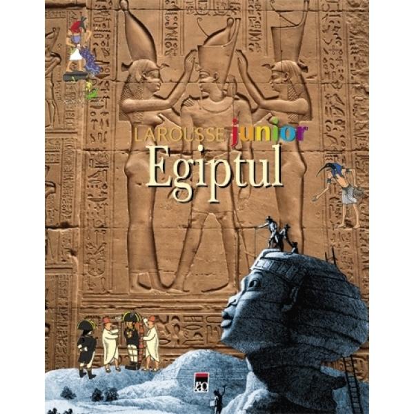 LAROUSSE JUNIOR EGIPTUL REEDITARE