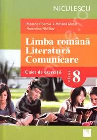 LB ROM.LITERATURA.COMUNICARE.CAIET CL 8 -CHEROIU