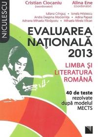 LB SI LIT ROM EVALUARE NATIONALA 40 TESTE CIOCANIU