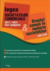 LEGEA SOCIETATILOR COMERCIALE 2011/2012
