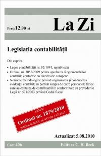 LEGISLATIA CONTABILITAT ITATII (COD 406) ACTUAL