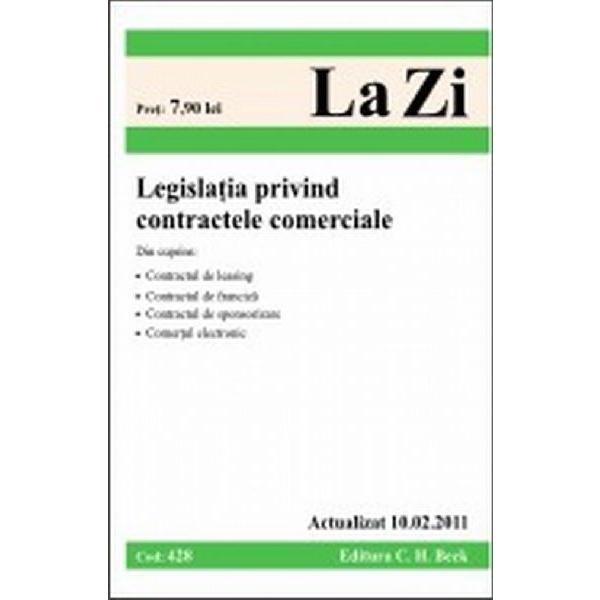 LEGISLATIA PRIVIND CONT RACTELE COMERCIALE ( CO