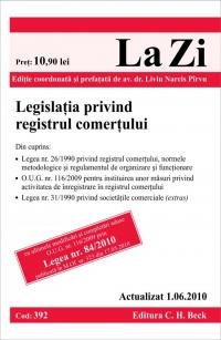 LEGISLATIA PRIVIND R REGISTRUL COMERTULUI -