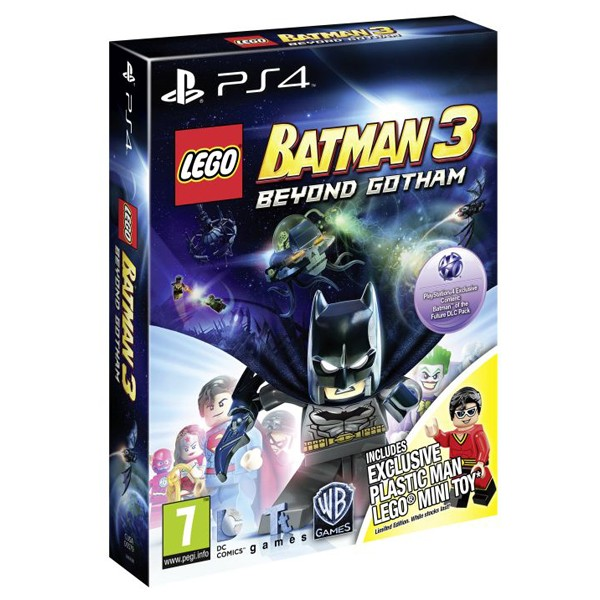LEGO BATMAN 3 BEYOND GOTHAM TOY EDITION - PS4